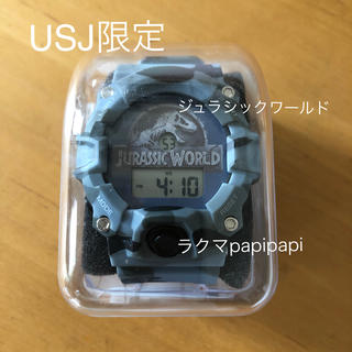 ユニバーサルスタジオジャパン(USJ)の新品未使用 USJ限定 ジュラシックワールド 迷彩柄腕時計(腕時計(デジタル))