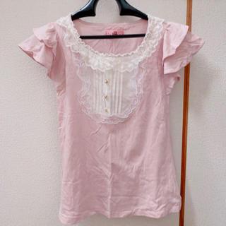 アンクルージュ(Ank Rouge)のアンクルージュ フリル半袖Tシャツ(Tシャツ(半袖/袖なし))