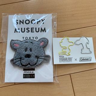 ピーナッツ(PEANUTS)のファーロン スヌーピーミュージアム さがら織バッジ おまけ付き(バッジ/ピンバッジ)