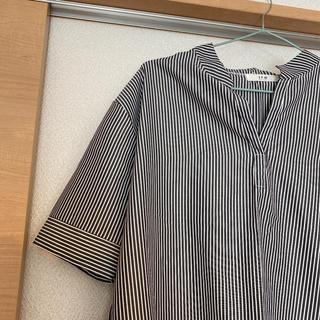 ディーホリック(dholic)の白黒ボーダーチュニック 韓国で購入(チュニック)