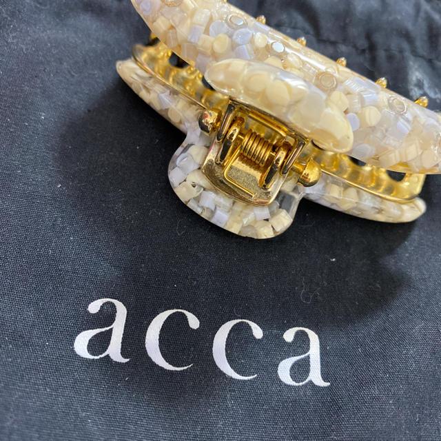 acca(アッカ)のacca 3D PLUSシリーズ 新品未使用 中サイズ レディースのヘアアクセサリー(その他)の商品写真