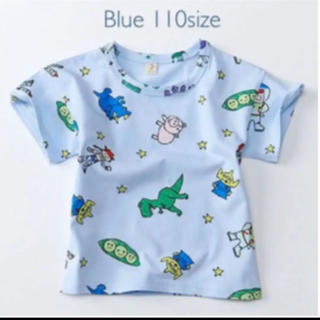 値下げ❤︎トイストーリーTシャツブルー 110サイズ (Tシャツ/カットソー)