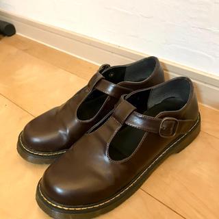 Dr.Martens - 革靴 ブラウン