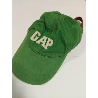 ギャップ(GAP)のGAP ロゴ ローキャップ 緑 ギャップ カジュアル ファストファッション 帽子(キャップ)