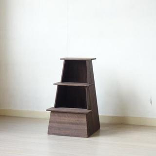 アンティーク 木製踏み台 ふみ台 作業イス スツール 古家具 古道具④
