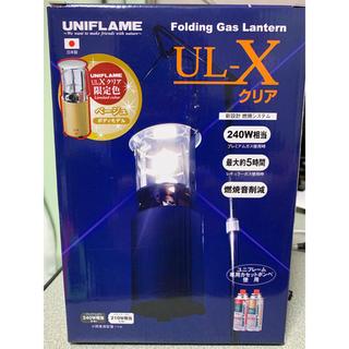 ユニフレーム(UNIFLAME)のユニフレーム ガスランタン UL-X【RiM様専用】(ライト/ランタン)