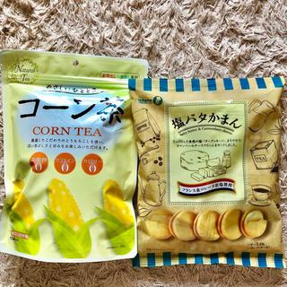 カルディ(KALDI)のKALDI☆コーン茶&塩バタかまん5つ セット(茶)