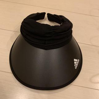 アディダス(adidas)のadidas サンバイザーADW 2WAY JOCKEY VISOR(サンバイザー)