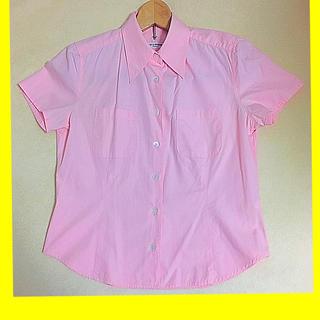 チャイルドウーマン(CHILD WOMAN)のチャイルドウーマン 半袖 シャツ ブラウス CHILD WOMAN 綿100%(シャツ/ブラウス(半袖/袖なし))