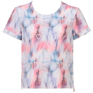 アモスタイル(AMO'S STYLE)のAMOACTIVEシアーレイヤー ルーズフィットTシャツ(Tシャツ/カットソー(半袖/袖なし))