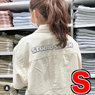 ジーユー(GU)のGU × STUDIO SEVEN コラボ デニムワークシャツ (シャツ)