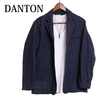 ダントン(DANTON)のDANTON テーラードジャケット ワークジャケット 紺色 ダントン(テーラードジャケット)