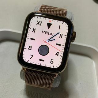 アップルウォッチ(Apple Watch)のApple Watch series4 セルラー 40mm アップルケア付き(腕時計(デジタル))
