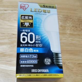 アイリスオーヤマ(アイリスオーヤマ)のLED電球  アイリスオーヤマ  昼白色  一般電球 60形  5年保証(天井照明)