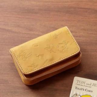 タリーズコーヒー(TULLY'S COFFEE)の限定品 タリーズコーヒー トムとジェリー カードケース(名刺入れ/定期入れ)