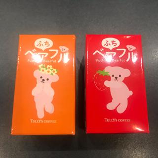 タリーズコーヒー(TULLY'S COFFEE)の☆タリーズ☆ふちベアフル(フラワー、いちご)(ノベルティグッズ)