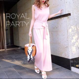 ロイヤルパーティー(ROYAL PARTY)のROYALPARTY♡プリーツ エイミー リエンダ リゼクシー エモダ Redy(オールインワン)