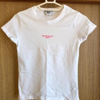 ナチュラルビューティーベーシック(NATURAL BEAUTY BASIC)のレディースTシャツ(Tシャツ(半袖/袖なし))