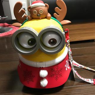 ユニバーサルスタジオジャパン(USJ)のnusped様専用 USJ ミニオン ポップコーン入れ クリスマス(キャラクターグッズ)