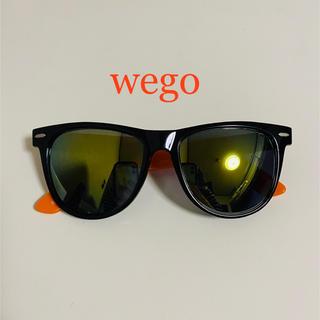 ウィゴー(WEGO)のwego ミラーサングラス オレンジ(サングラス/メガネ)