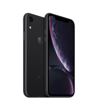 アイフォーン(iPhone)の【新品未使用】iPhone XR Black 64GB SIMフリー(スマートフォン本体)