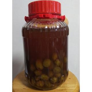 梅ジュースと梅の実1400(フルーツ)