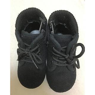 コムサイズム(COMME CA ISM)のコムサ ブーツ 黒 14cm(ブーツ)