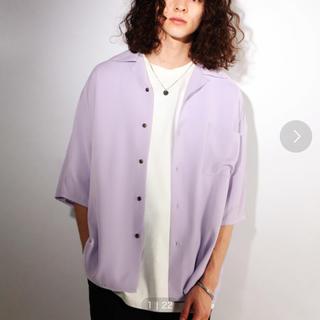 ハレ(HARE)のhare     ハレ オープンカラーシャツ 開襟シャツ パープル(シャツ)