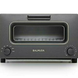 バルミューダ(BALMUDA)の新品未使用 BALMUDA バルミューダ トースター 黒 値下げ (調理機器)
