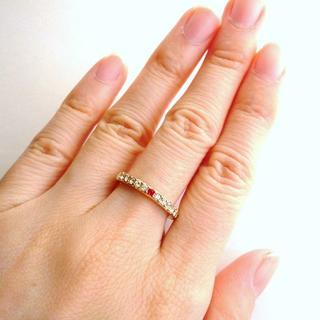 キラキラ 白雪姫 スワロフスキー指輪(リング(指輪))