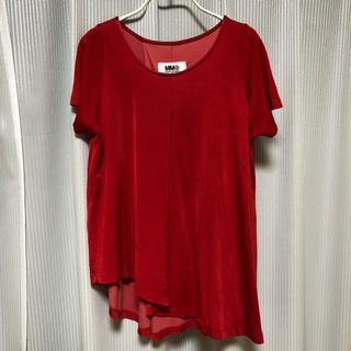エムエムシックス(MM6)のMM6 メゾンマルジェラ カットソー Tシャツ(Tシャツ(半袖/袖なし))