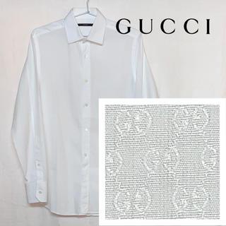 グッチ(Gucci)のGUCCI GG柄 GGスプリーム 白シャツ(シャツ)