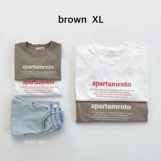 プティマイン(petit main)の新品 blackbean letter t レターt 韓国子供服 110(Tシャツ/カットソー)