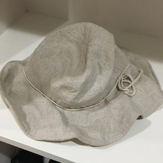 ムジルシリョウヒン(MUJI (無印良品))の無印 麻 折りたためる帽子(麦わら帽子/ストローハット)