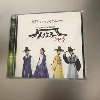 ジェイワイジェイ(JYJ)のCD 成均館スキャンダル OST(韓国/アジア映画)
