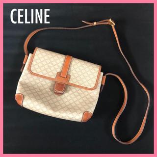 セフィーヌ(CEFINE)のオールドセリーヌ ショルダーバッグ マカダム  PVC×レザー 革(ショルダーバッグ)