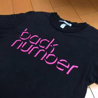 BACK NUMBER - back numberブラックコットンT