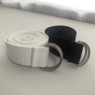 スピンズ(SPINNS)の白・黒 ベルトセット(ベルト)