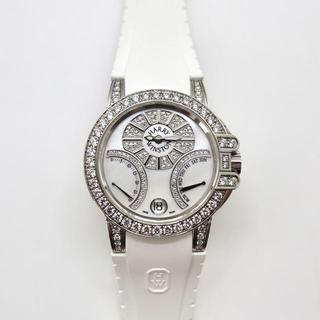 ハリーウィンストン(HARRY WINSTON)の【純正ダイヤ】ハリーウィンストン オーシャン バイレトロ ユニセックス 36mm(腕時計(アナログ))