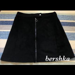 ベルシュカ(Bershka)のベルシュカ 台形スエード ミニスカート(ミニスカート)