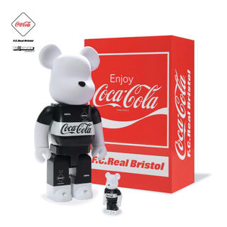 エフシーアールビー(F.C.R.B.)のF.C.R.B. COCA-COLA BE@RBRICK 100&400(その他)