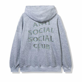 アンチ(ANTI)のAnti Social Social Club Grey Hoodie(パーカー)