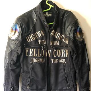 イエローコーン(YeLLOW CORN)のYELLOW CORN ライダージャケット(ライダースジャケット)