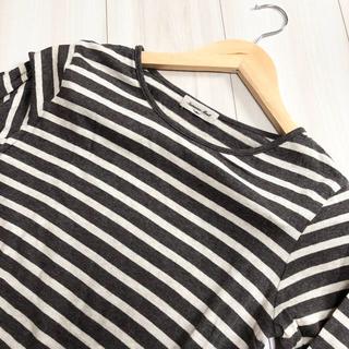 サマンサモスモス(SM2)のサマンサモスモス カットソー ボーダー(Tシャツ(長袖/七分))