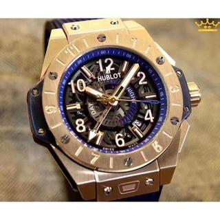 ウブロ(HUBLOT)のウブロ 自動巻き 腕時計 メンズ45mm(ラバーベルト)