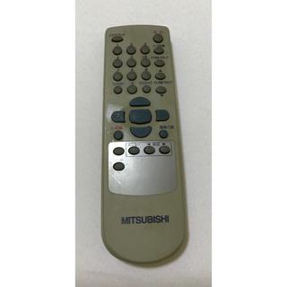 ミツビシ(三菱)の【値下げ】三菱 MITSUBISHI ビデオデッキ VHS リモコンのみ(その他)