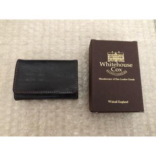 ホワイトハウスコックス(WHITEHOUSE COX)のホワイトハウスコックス コインケース ハバナ 未使用新品(コインケース/小銭入れ)