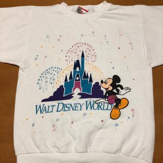 ディズニー(Disney)のディズニー DISNEY ミッキー スウェット トレーナー S(スウェット)