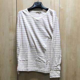 サマンサモスモス(SM2)のSM2   ボーダーロングTシャツ(Tシャツ(長袖/七分))