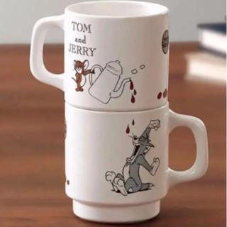 タリーズコーヒー(TULLY'S COFFEE)の新品 タリーズコーヒー トムとジェリー マグカップ 2個セット(グラス/カップ)